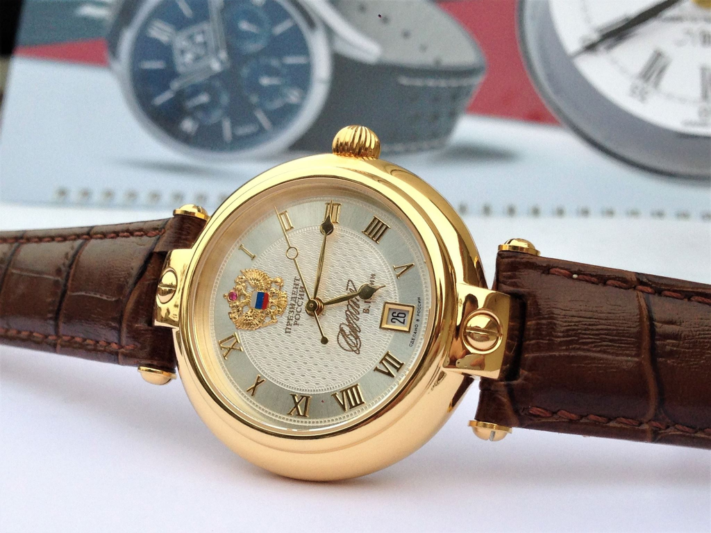 Đồng hồ Nga Poljot President Putin Gold