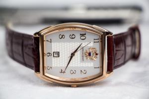 Đồng hồ Nga Poljot president Oval Demi White